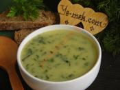 Yeşil Otlu Patates Çorbası
